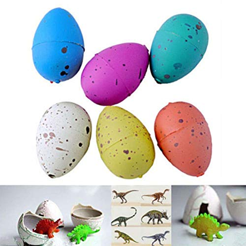 Balai Dinosaur Eggs Hatching Egg Dino All About Small Toys That Hatch and Grow in Water Toy Dinosaur - Best Hatching Growing Dinosaur Dino Egg Add Water Magic Cute Kids Toy Gift for Kids 3+ Year olds