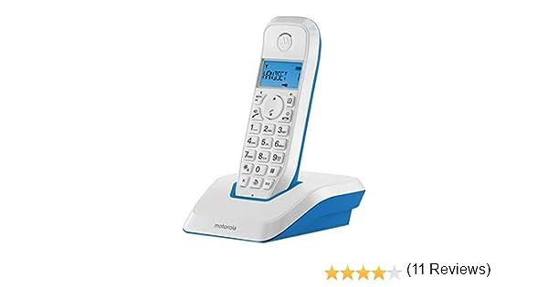 Motorola S1201 Telefono DECT, Azul: Amazon.es: Electrónica