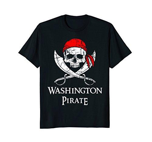 Washington Pirate Jolly Roger State Pride (Washington Park Halloween Party)