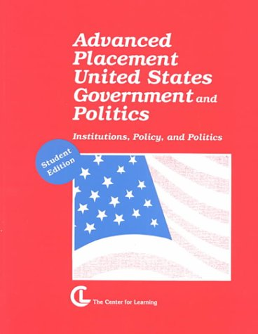 Advanced Placement United States Government and Politics -