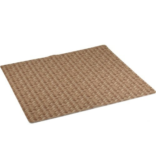 Drymate Kitchen Dry Mat - Tan Bamboo Print, 100% Polyester - Made in USA
