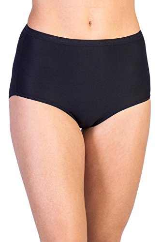 ExOfficio Women's Give-N-Go Full Cut Brief, Black, XXX-Large ()