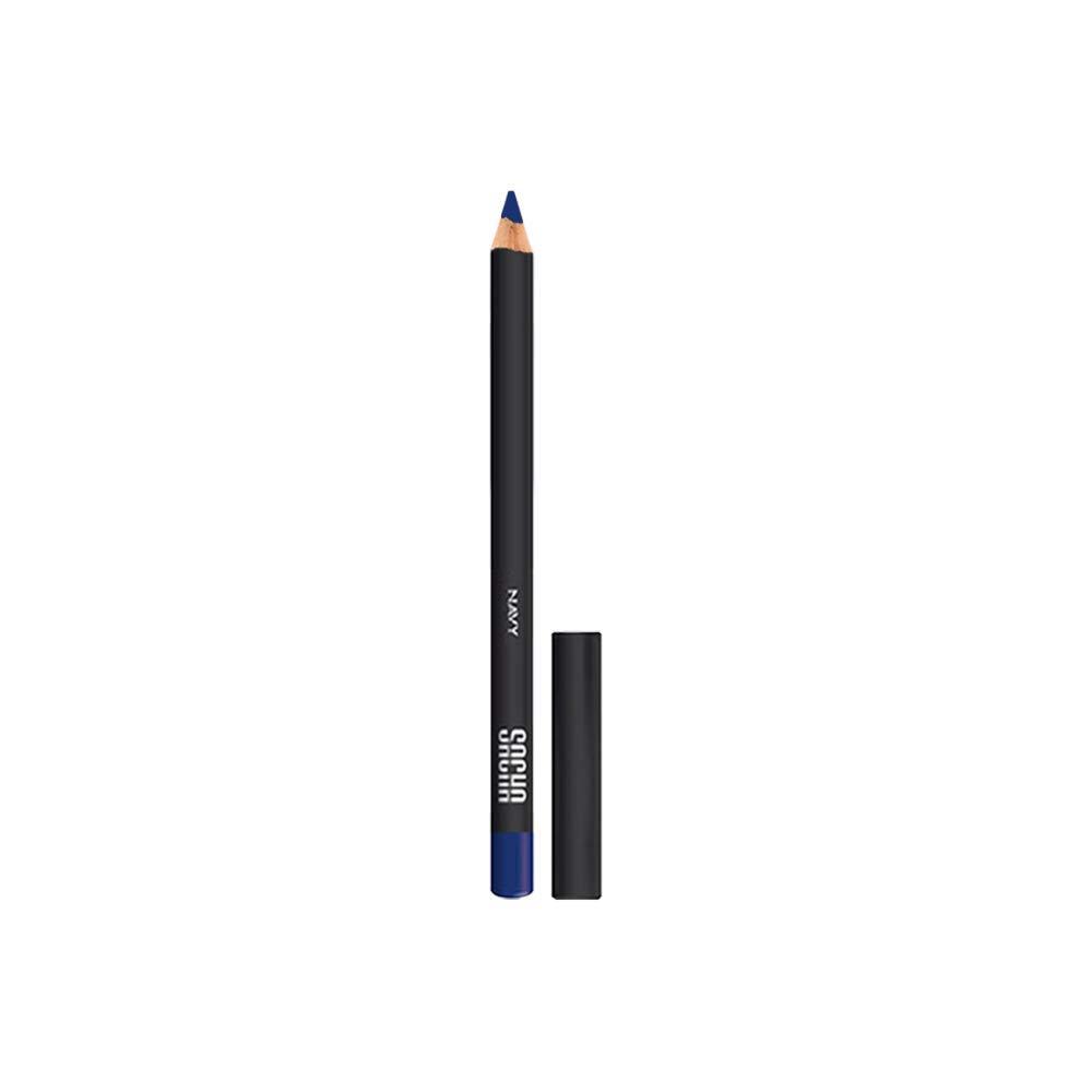 Eye Liner Pencil by Sacha Cosmetics, Best Cream Waterproof Long Lasting Eyeliner Makeup Definer, 0.035 oz, Navy