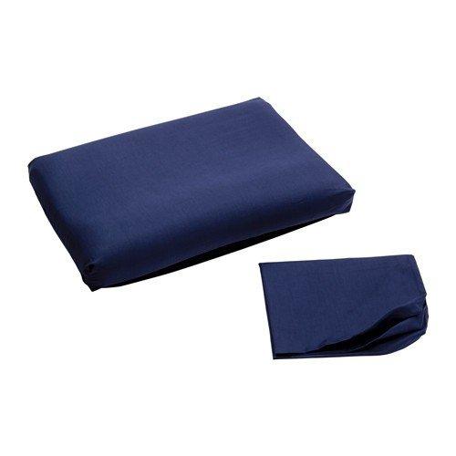 Ikea Dvala Fundas para Cojín ergonómico en color azul oscuro ...