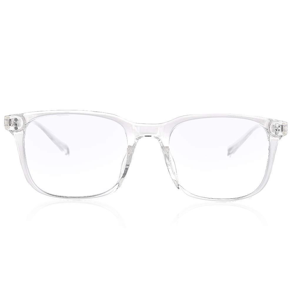 Durchsichtig Gimdumasa Blaulichtfilter Brille Computerbrille Pc Gaming Bluelight Filter Uv Blueblocker Glasses Anti Damen Herren Ohne St/ärke Entspiegelt