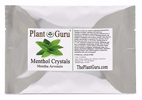 MENTHOL CRYSTALS 1lb Bulk Mentha Arvensis 100% Pure Natural USP Grade