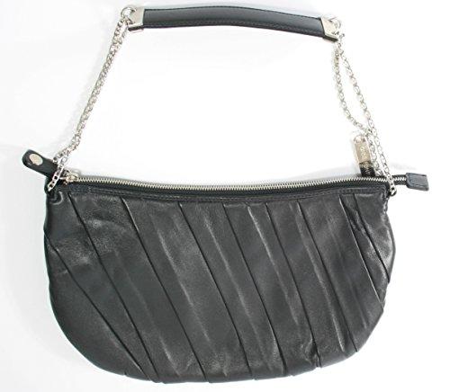 Anne Fontain , Sac pour femme à porter à l'épaule Noir noir