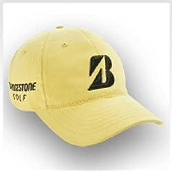 Bridgestone Golf Tour Relax Cap - Maze (Yellow)
