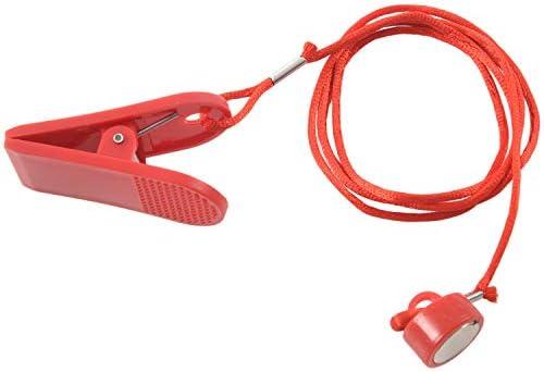 Katigan Hardloopmachine Veiligheidssleutel Loopband Magnetische Schakelaar Slot Fitness Rood