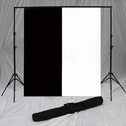 Backdrop / Background Portable Support with Two Backdrops from Pro Photo Connect by PRO PHOTO CONNECT