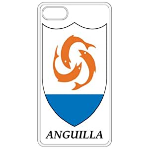 Anguilla - Coat Of Arms Flag Emblem White Apple Iphone 4 - Iphone 4s Cell Phone Case - Cover