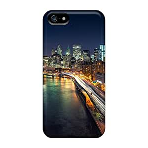 Hot Tpye Manhattan Nights Case For HTC One M8 Cover