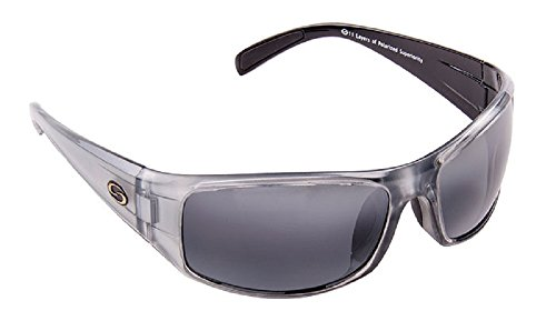Strike King S11 Optics Full Frame Polarized Sunglasses (Clear Gray Metallic-Back Two Tone - Willy Sunglasses