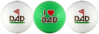 #1 Dad w/ Love You Dad Golf Ball Gift Set