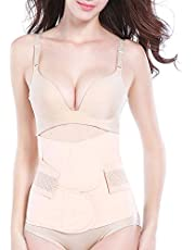 Trendyline Women Postpartum Girdle Corset Recovery Belly Band Wrap Belt