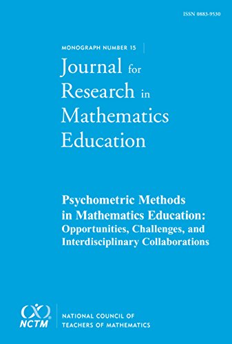 Psychometric Methods in Mathematics Education, JRME Monograph #15 (JRME Monograh)