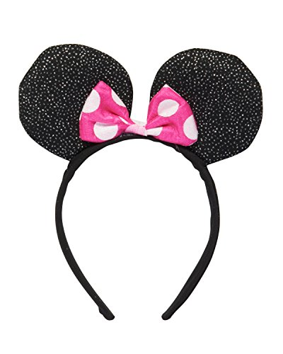 Pink Minnie Ears (American Greetings Minnie Mouse Deluxe Headband)