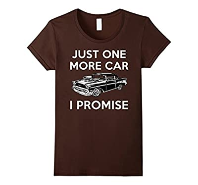 Gifts For Car Lovers Just One More Car Funny Car TShirt