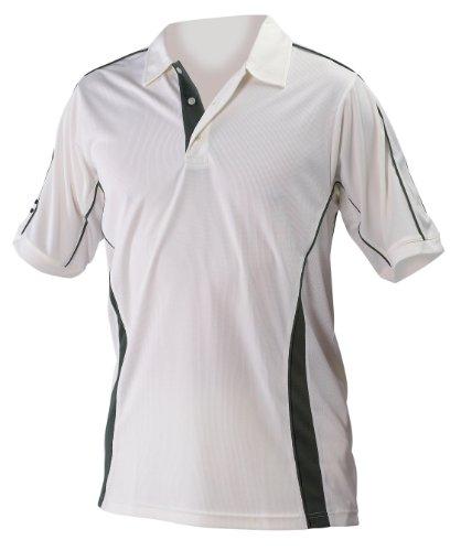 Players Cricket Shirt Medium Green Trim by Gray-Nicolls