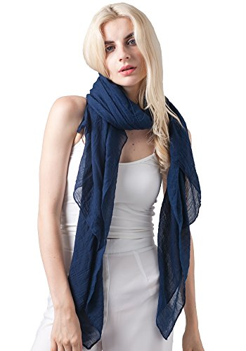 MissShorthair Lightweight Beautiful Solid Color Scarf for Women Shawl Wrap Soft Solid Scarf (mixed set)