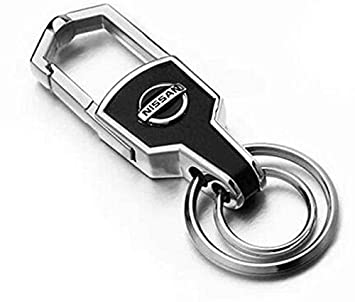 Amazon.com: tkxt aleación de zinc logotipo Llavero de Coche ...