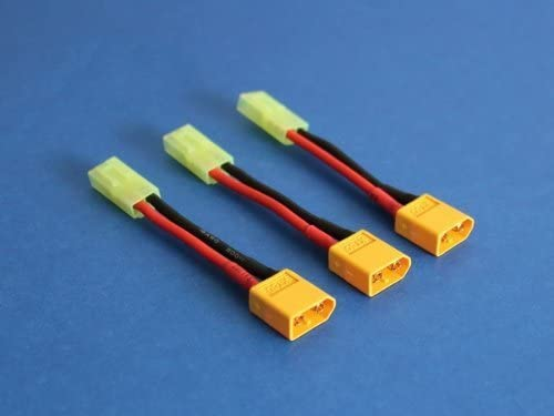 H Converter Adapter xt60 type connector mi-mh m to mini tamiya lipo