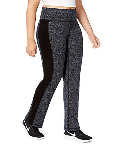 Ideology Plus Size Space-Dyed Yoga Pants (3X-Large) -