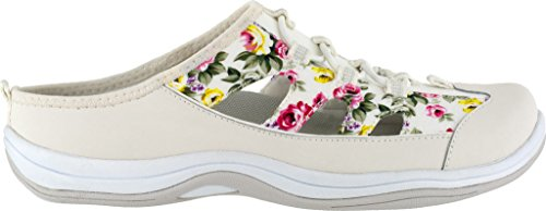 Easy Street Mujeres Barbara Fashion Sneaker Blanco / Flor