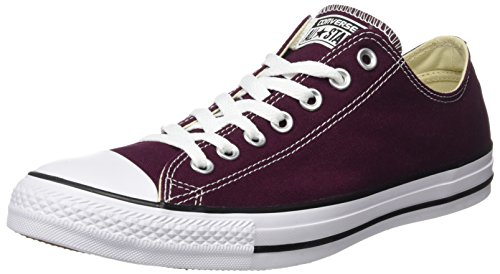 Converse Chuck Taylor all Star, Sneaker Unisex-Adulto Rosso (Dark Sangria 626)
