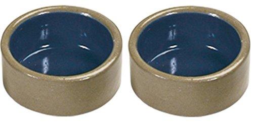 Kaytee Stoneware Hamster Bowl, 3-Inch 411C87yQQvL
