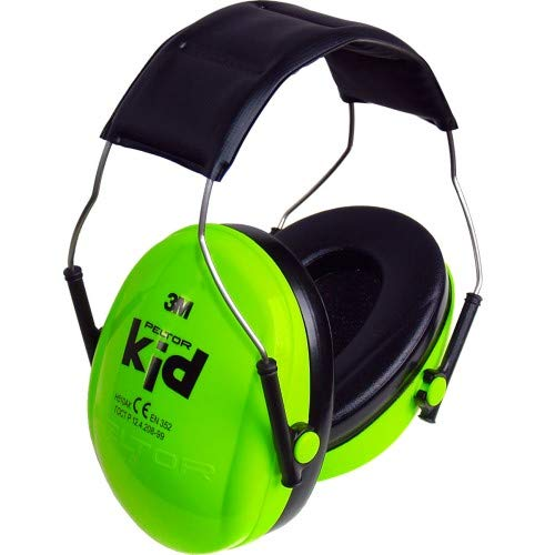 3M Peltor Kid H510Akgc Ear Protectors For Children Aged 2 And Above/Noise Level Up To 98 Db/Very Lightweight/Neon Green