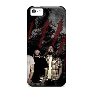 Iphone 5c MXP6327aMCc Support Personal Customs Colorful In Flames Band Pictures Excellent Hard Cell-phone Case -MansourMurray