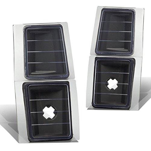 For 94-98 Chevy C/K-series 2-PC Corner Light Lamps - Black Housing (94-98)