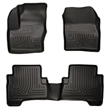 Husky Liners Front & 2nd Seat Floor Liners Fits 13-16 C-Max, 13-17 Escape