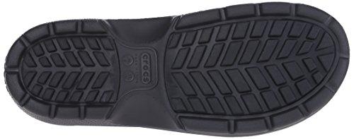 Crocs Rain Black Lining Unisex Reny Black Boots Ii Adults' Warm BrRpa7Bx