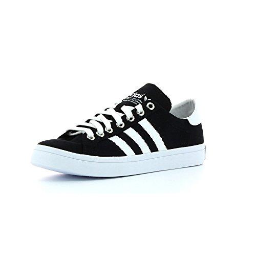 adidas Courtvantage, Zapatillas de Deporte para Niños Varios colores (Negro - (Negbas/Ftwbla/Plasld))