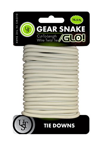 (UST Gear Snake Bendable Wire Cord, 16.5 Feet, Glow in the)