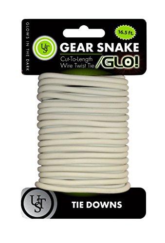 Dark Twist (UST Gear Snake Bendable Wire Cord, 16.5 Feet, Glow in the Dark)