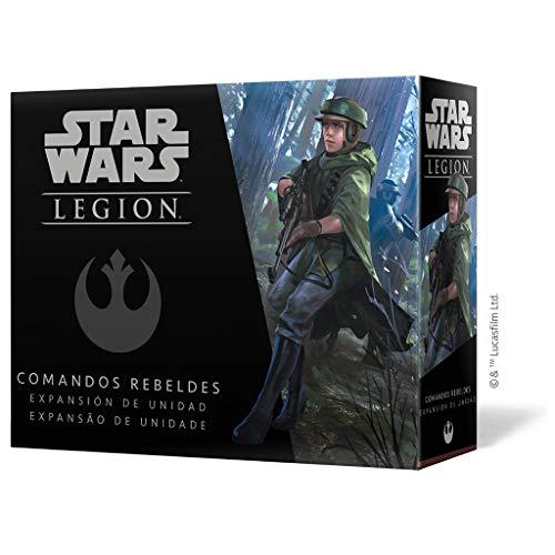 Wave 2 - Comandos Rebeldes - Expansão De Unidade, Star Wars Legion Galápagos Jogos Multicor