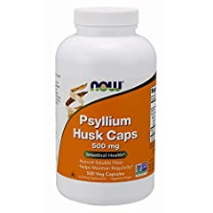 Take 3 capsules with 8 oz. glass of liquid, 2 to 3 times daily. Surveys have shown that the fiber content of the American diet is typically about half of government recommended levels. Psyllium Husks can be a convenient way to increase the in...