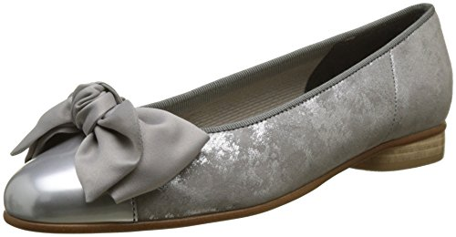 Gabor para Mujer Silber Grau Shoes Basic Gabor Bailarinas Gris pwZpr7x