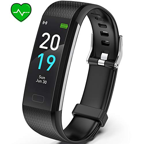 Akasma-Fitness-Tracker-HR-S5-Activity-Tracker-Watch-with-Heart-Rate-Monitor-Pedometer-IP68-Waterproof-Sleep-Monitor-Step-Counter-for-Women-Men