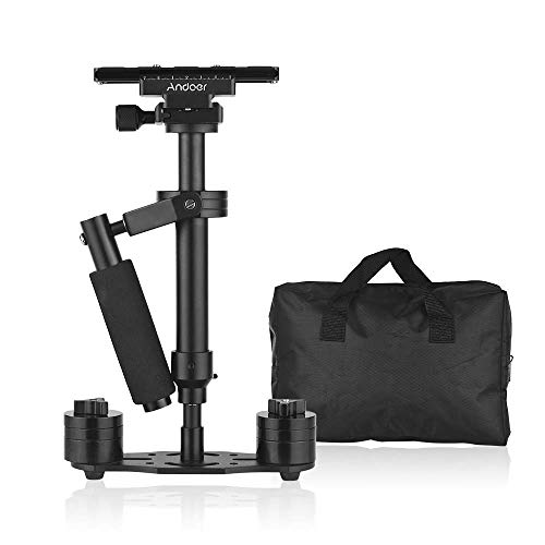 Andoer Professional Handheld Camera Gimbal Stabilizer with Quick Release Plate 1/4 Inch Screw for DSLR DV Video Cameras Camcorders GoPro Max. Load Capacity 1.5KG