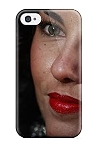 Hot 7732447K37912382 Tpu Shockproof/dirt-proof Barbara Mori Cover Case For Iphone(4/4s)