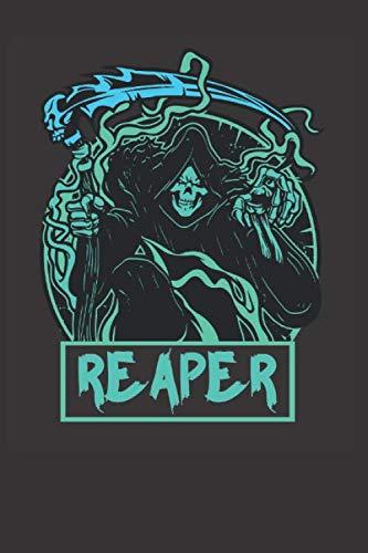 Grim Reapers Costumes (Grim Reaper Halloween Costume Notebook Journal: Grim Reaper Halloween Costume Notebook Journal Gift College Ruled 6 x 9 120)