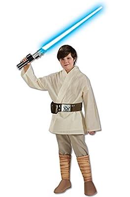 Rubie's Costume Star Wars Classic Luke Skywalker Child Costume, Large