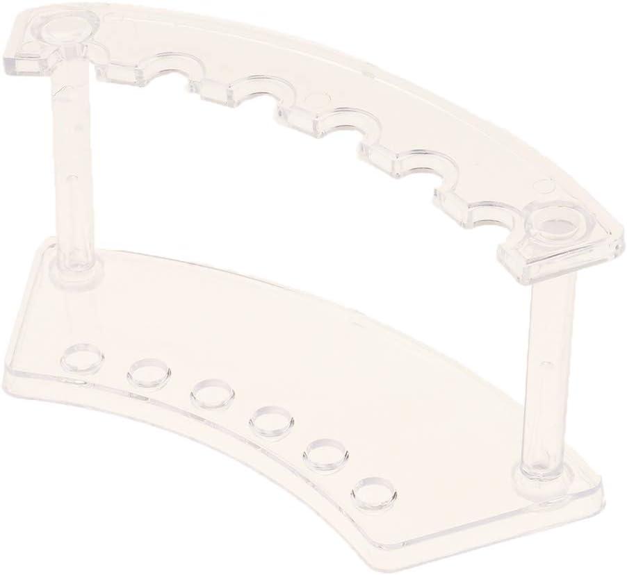 2 St/ück Durchsichtiger Stiftehalter Pinselst/änder Pinselhalter Organizer f/ür Kosmetikpinsel Malpinsel Kugelschreiber