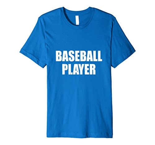 Mens Baseball Player Halloween Costume Party Cute & Funny T shirt 2XL Royal Blue