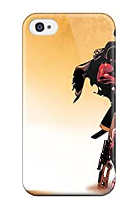 9858678K95505793 For Iphone 4/4s Tpu Phone Case Cover(deadpool)