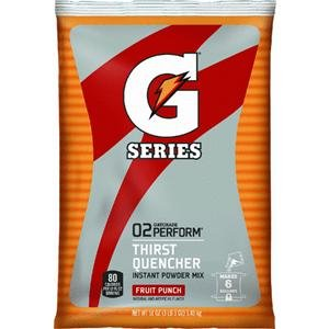 Gatorade Instant Powder Mix - 6 gal. Fruit Punch case (14x 51 oz) by Gatorade (Image #1)